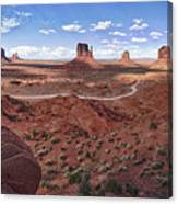 Amazing Monument Valley Canvas Print