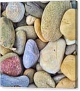 Amazing Pebbles Canvas Print