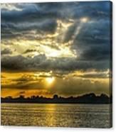 Amazing Rays Canvas Print