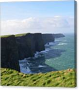 Amazing Scenic Views Of The Cliff's Of Moher Canvas Print