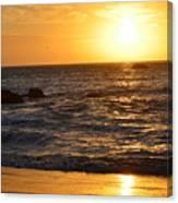 Amazing Sunset 230 Canvas Print