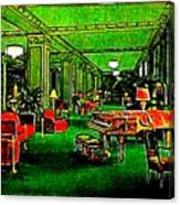 Ambassador Hotel Lobby, Los Angeles, 1935 Canvas Print