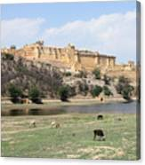 Amber Fort Canvas Print