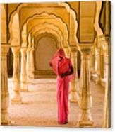 Amber Fort Temple Canvas Print