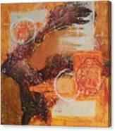 Amber Parade Canvas Print