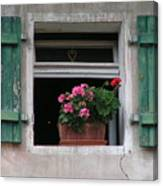 Amberg Window Canvas Print