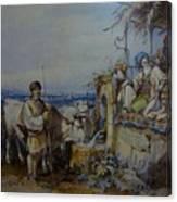Amedeo Preziosi Shephard Canvas Print