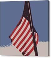 Amercan Flag Canvas Print