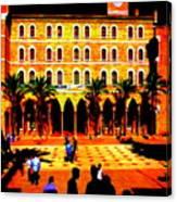 Amercian University Of Beirut  Canvas Print