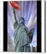 America On Alert II Canvas Print