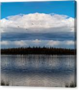 America The Beautiful 2 - Alaska Canvas Print
