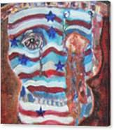 America Under Fire Canvas Print