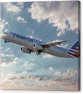 American Airlines A321-231 N917uy Canvas Print