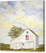 American Barn Canvas Print