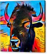 American Bison Canvas Print