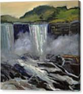 American Bridal Veil Falls  Canvas Print