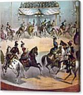 American Circus, C1872 Canvas Print