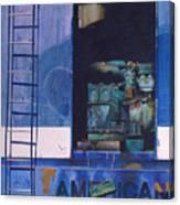 American Express Canvas Print