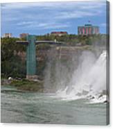 American Falls And Rainbow Bridge Canvas Print