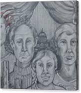 American Family? Canvas Print