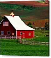 American Farm Canvas Print