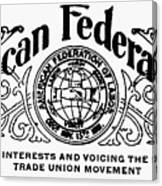 American Federationist Canvas Print