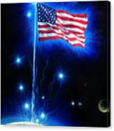 American Flag. The Star Spangled Banner Canvas Print