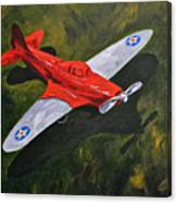 American Flyer Canvas Print
