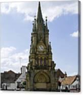 American Fountain - Stratford-upon-avon Canvas Print