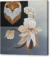 American Fox Canvas Print