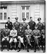 American Generals Wwii  Canvas Print