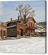 American Ghost Town Canvas Print