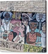 American Graffiti Canvas Print