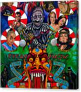 American Horror Story Freak Show Canvas Print