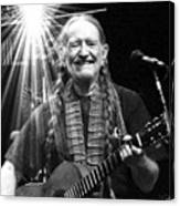 American Icon - Willie Nelson Canvas Print