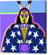 American Indian By Nixo Canvas Print