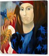 American Jokonda Canvas Print