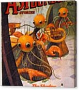 American Magazine Cover Canvas Print