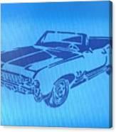 American Muscle Car Canvas Print