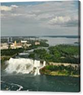 American Niagara Falls #2 Canvas Print