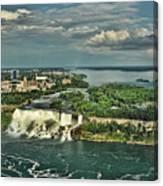 American Niagara Falls  Canvas Print