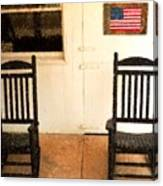 American Porch Canvas Print
