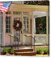 American Porch Canvas Print