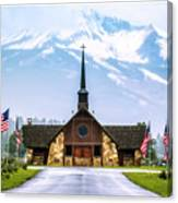 American Soldiers Chapel Canvas Print