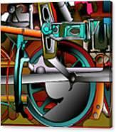 American Steam Canvas Print