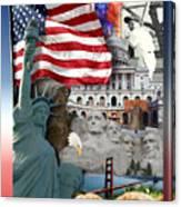 American Symbolicism Canvas Print
