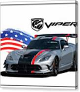American Venom Canvas Print