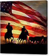 American West Canvas Print