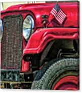 American Willys Canvas Print