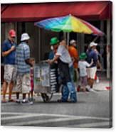 Americana - Mountainside Nj - Buying Ices  Canvas Print
